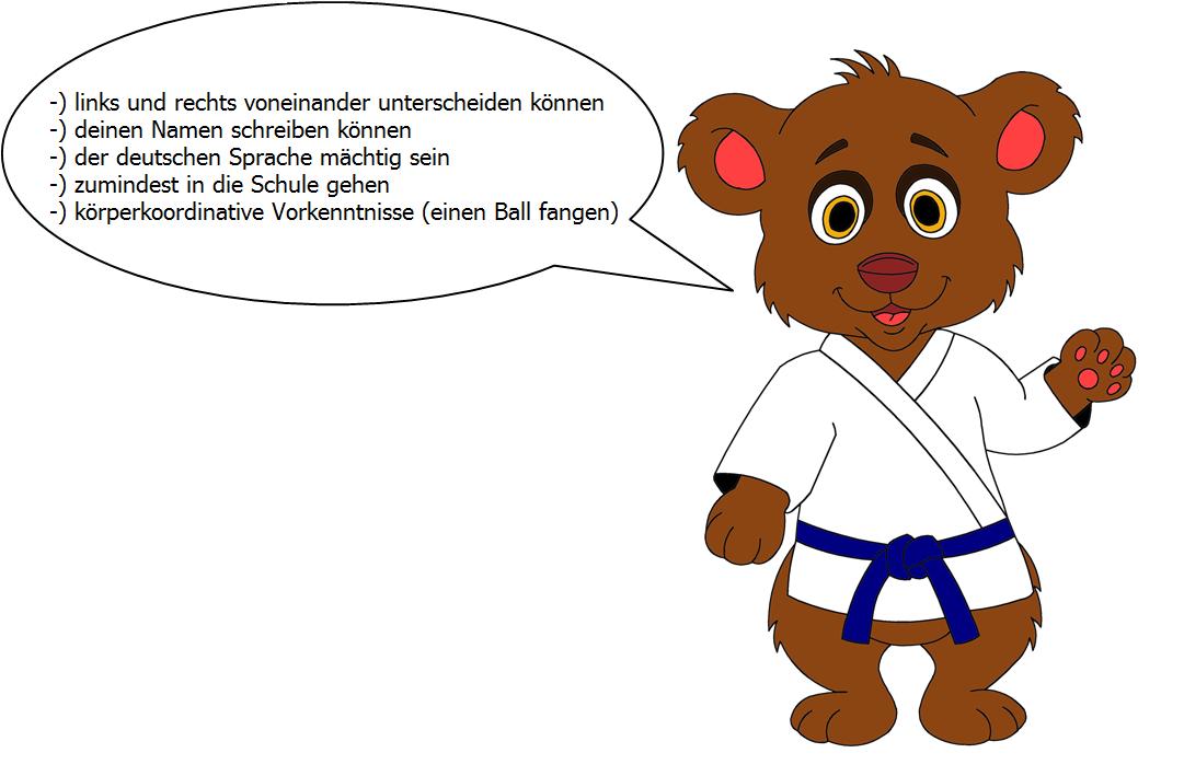 Anforderungen-Judo