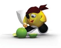 UGOTCHI-Apfel